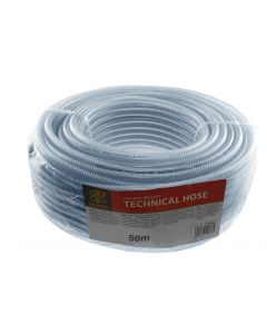 "Reinforced clear pvc pipe 1/2"" (12.5mm)"