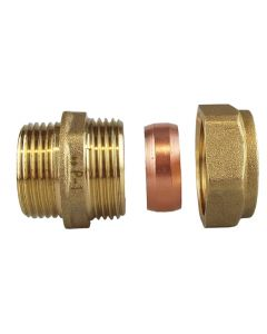 "COPPER JOINER 3/4""BSPM -22MM"